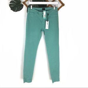 Stitch Fix NWT Just Black Teal Soft Skinny Jeans